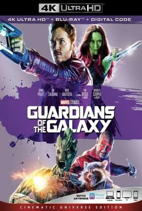 Guardiões da Galáxia 4K Download
