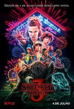 Stranger Things - 3ª Temporada Netflix Completa Download