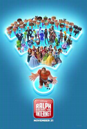 WiFi Ralph - Quebrando a Internet BluRay Download