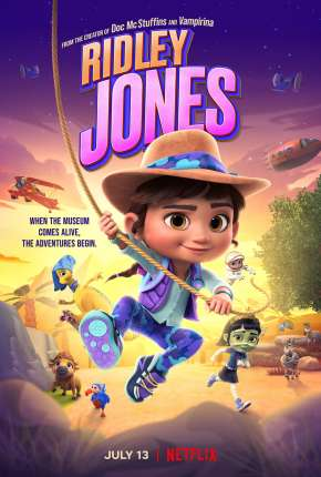 Ridley Jones - 1ª Temporada Completa - Legendado Download